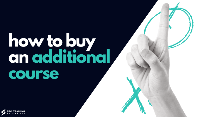 how to buy an additional course