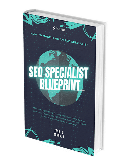 SEO Specialist Blueprint - Book Cover