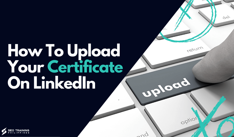 how to upload your certificate on linkedin